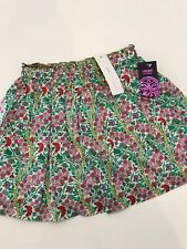 NWT 4-5 S PEEK Aren't You Curious Liberty Of London Floral Lined Skirt Elastic W