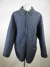 Men's Barbour Eskdale Snap Nylon Quilted Jacket Size XL A1789