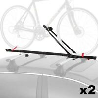 Bike Car Roof Carrier Rack Bicycle Racks Steel Pack of 2