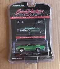 1970 Oldsmobile 442 W30 Greenlight Collectibles Barrett Jackson Edition