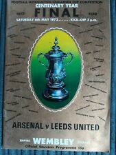 1972 FA Cup Final - Arsenal vs Leeds United