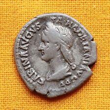 Ancient Roman Sabina Denarius, Left-Facing! Extra Rare!