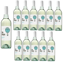 Sky High Sauvignon Blanc White Wine SEA (12x750ml)- Free Shipping RRP$189