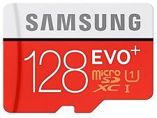 Samsung 128gb EVO Plus Micro SD Card SDXC Class 10 100mb/s Memory 2017 4k UHD