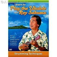 LEARN TO PLAY THE UKULELE WITH ROY SAKUMA DVD -- Strumming Techniques Hawaii New