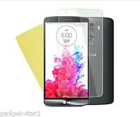 3x HQ CRYSTAL CLEAR SCREEN PROTECTOR COVER LCD GUARD FILM FOR LG G3 2014 D850