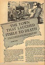 Austin, Nevada History & Genealogy - Sazerac Lying Club