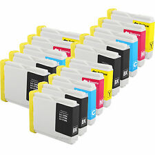 15Pk LC51 LC-51 Ink Cartridge for MFC-3360C MFC-5460CN MFC-5860CN