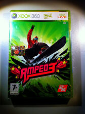 AMPED 3 XBOX360 FIRST RELEASE SEALED  SIGILLATO