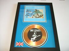 DIRE STRAITS  SIGNED  GOLD CD  DISC