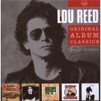 "LOU REED ""ORIGINAL ALBUM CLASSICS"" 5 CD BOX NEU"