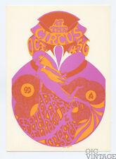 Retinal Circus Postcard 1968 Oct 4 Mother Tickers Mock Duck