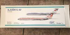 HPH Model 1:72 Ilyushin Il-62 Aircraft High End Resin Model Kit #72008L