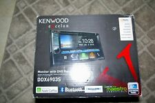 Kenwood Excelon 2-Din 6.2 inch Monitor w/DVD Receiver Model DDX603S