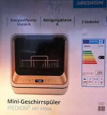 Tischgeschirrspüler Medion MD37004 Mini-Geschirrspüler Spülmaschine