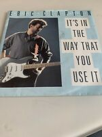 "Eric Clapton It's In The Way That You Use It 7"" vinyl single record UK W8397"