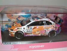 1/43 MITSUBISHI LANCER EVO X, TOURING CAR ,DRIFT MODIFIED, #505 **KYOSHO