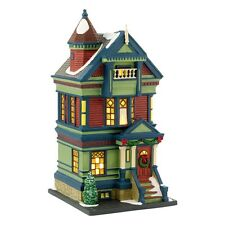 "Dept. 56 Christmas In The City ""755 PACIFIC HEIGHTS"" ~ NEW ~ Limited Edition"