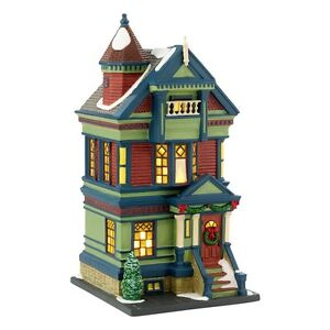 "Department 56 ~ Christmas In The City ""755 PACIFIC HEIGHTS""  ~ Limited Edition"