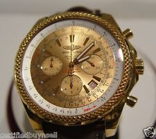 Breitling Bentley Motors Solid 18K Rose Gold Limited Edition Fifty Watches 4/50