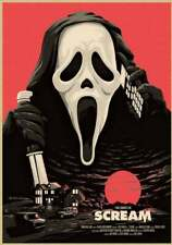 New listing Scream Poster, Movie Poster, Movie Film, Wall Art, Wall Picture - No frame