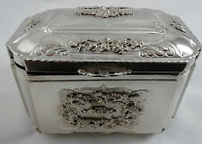 Esrog Pushke Etrog Box - Sterling Silver 925 - Flower Design - 508 grams