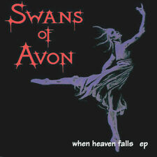 Swans Of Avon ‎– When Heaven Falls CD EP (Consequence, 1994) rare Goth Rock