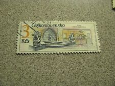 Czechoslovakia CSSR  3Kcs  Used postal stamp