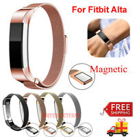 For Fitbit Alta / Alta HR Magnetic Milanese Stainless Steel Watch Band Strap New