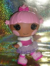 LALALOOPSY Littles Doll ~ Twirly Figure Eight Ice Skater ~ With Original Outfit