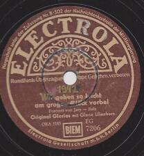 GLORIA LILIENBORN 1942  : Laß mich heut' abend nicht allein + Wir gehen so leich
