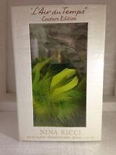 Nina Ricci L Air Du Temps Couture Edition Edt 1.7Oz