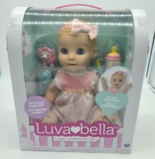 Luvabella Blonde Doll Baby Girl Realistic Expression 6044112 Rare Sold Out New