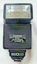 Sunpak Auto 30DX Thyristor Flash Gun Bounce & Swivel Dedicated for Oly OM Camera