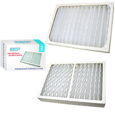 2x HQRP Air Cleaner Filters for Hunter HEPAtech 30097 30135 30180 30183 30932
