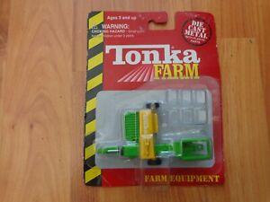 TONKA MINI FARM EQUIPMENT - RECTANGULAR BALER DIECAST FARM VEHICLE BOXED