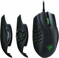Razer Naga Trinity Chroma RGB Gaming Mouse w Mechanical Switches 16000 DPI TS