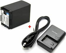 3400mAh Battery & Charger for BP-827 CG-800 Canon XA10 Professional Camcorder US