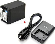 3.4A Battery & Charger for Canon VIXIA HF10 HF11 HF20 HF21 HF100 HF200 HG20 HG21