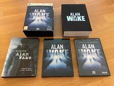 Alan Wake Coffret Edition Collector Limitée XBOX360 Complet Version FR Bon État