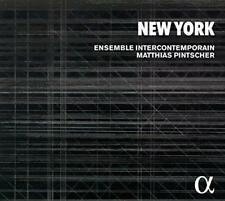 New York - Varese; Carter; Fulmer; Shepherd; Reich; Cage; Feldman - En (NEW 2CD)