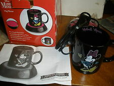 Disney Minnie Mouse Mug Coffee Warmer Tea Milk Cup Heater Hot Office Home Gift