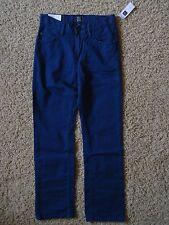 New*Gap Boy Slim Straight Fit Denim Pants Size 10/Blue*Coupe Droite Et Etroite