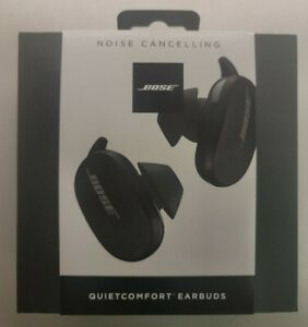 NEW Bose Quietcomfort Noise Cancelling  QC Earbuds Black