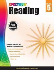 Spectrum Reading Workbook, Grade 5, , Very Good Book