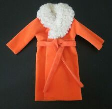 Vintage Barbie: Sears #1510 Glamour Group ~ Orange Coat Vgc