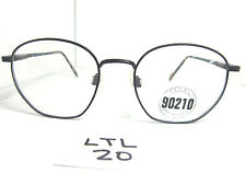 Vtg 1990s Eyeglass Frame Beverly Hills 90210 Donna Black Matte Torand (LTL-20)