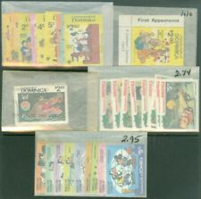 EDW1949SELL : DOMINICA 1979-81 Disney sets Complete. Very Fine Mint Never Hinged