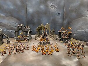 Warhammer Age of Sigmar Daughters of Khaine Army Painted