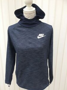 Nike XL Boys Dark Blue Hoodie Age 13-15 Years